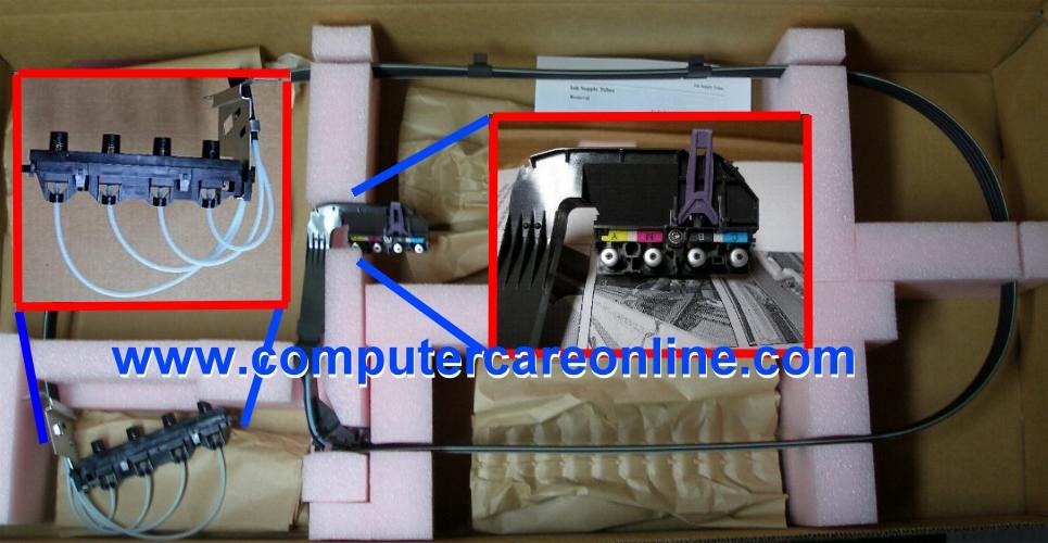 C7770-60286 C7770-60251 DesignJet 500 / 800 42 inch Ink Tubes Assembly