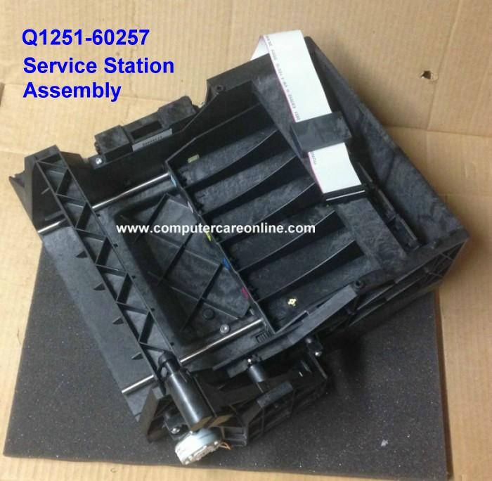 Q1251-60257 DesignJet 5000 / 5500 Service Station Assembly