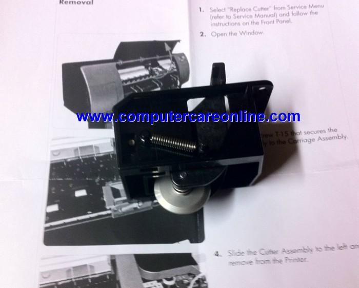 Q1273-60271 DesignJet 4000 / 4500 / Z6100 Cutter Assembly New