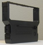 IR-61RB Compatible Black/Red Nylon Cash Register Ribbon 6pk